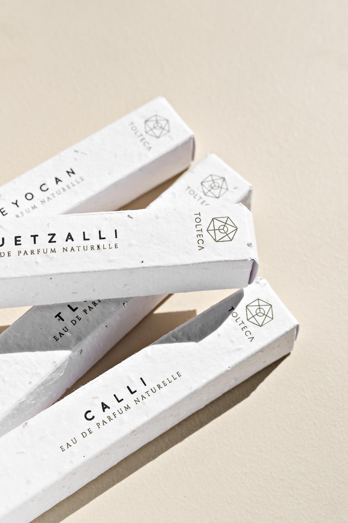 Tolteca parfums voyages vegan