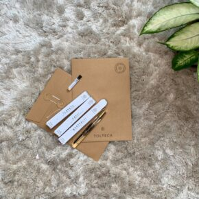 pochette cadeau fête des mères - parfums naturels TOLTECA