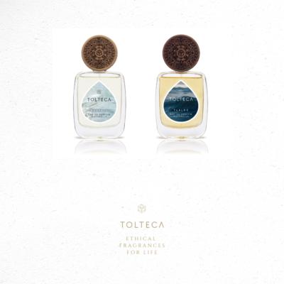 Duo élément EAU parfums naturels et vegan TOLTECA